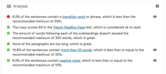 optimize blogs readability yoast seo Optimize Blog Posts for SEO