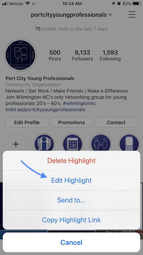 How to Edit an Instagram Highlight